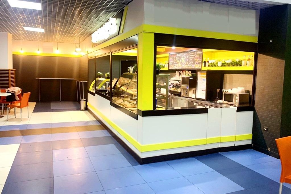 Кофейня в ТЦ  на фудкорте с оборудованием на 1 800 000 руб