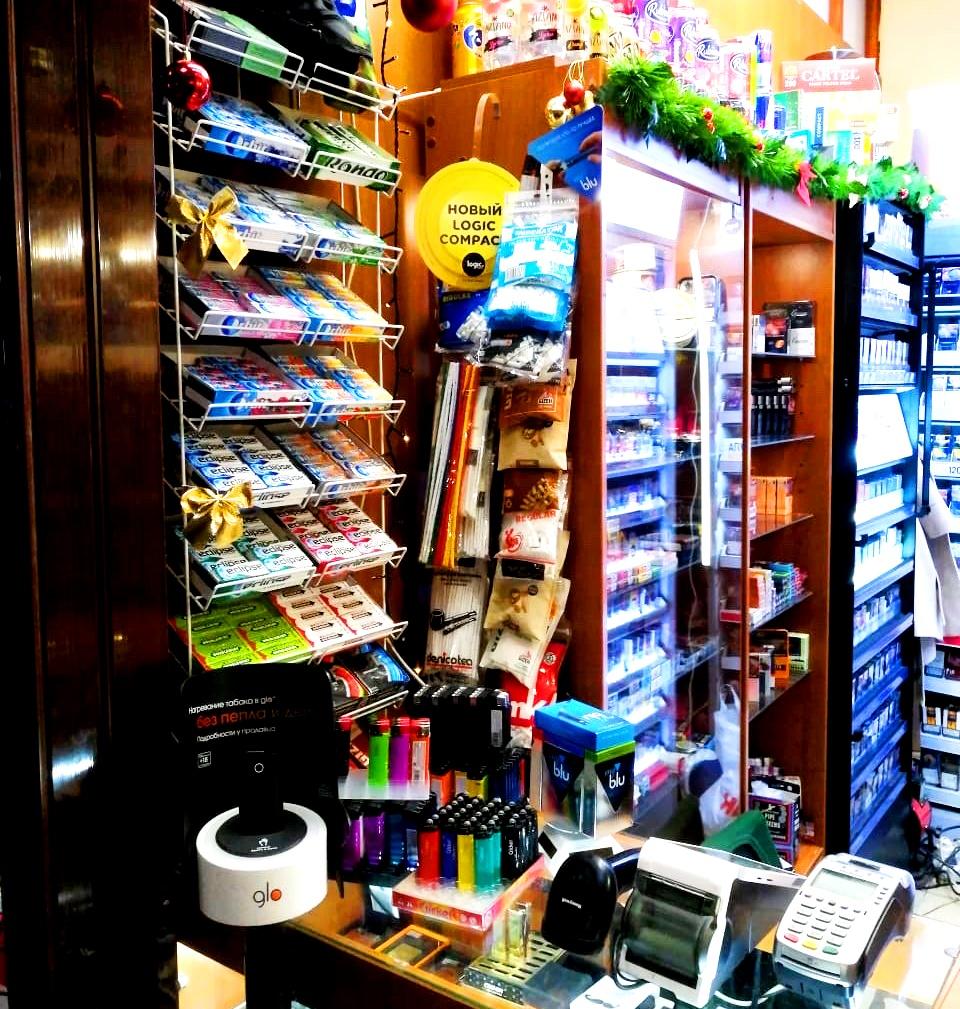 Табачный магазин. Очень высокая проходимость