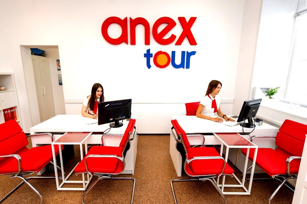 Турагентство Anex tоur прибыль до 1.000.000р в мес