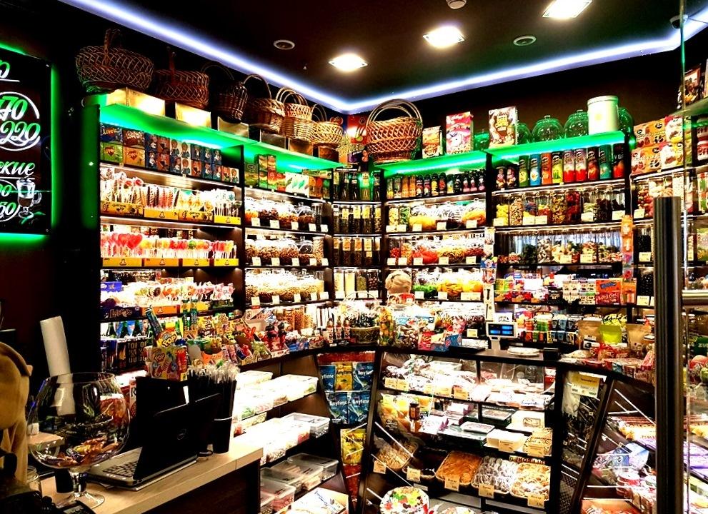 Прибыльный магазин сладостей в Москва Сити