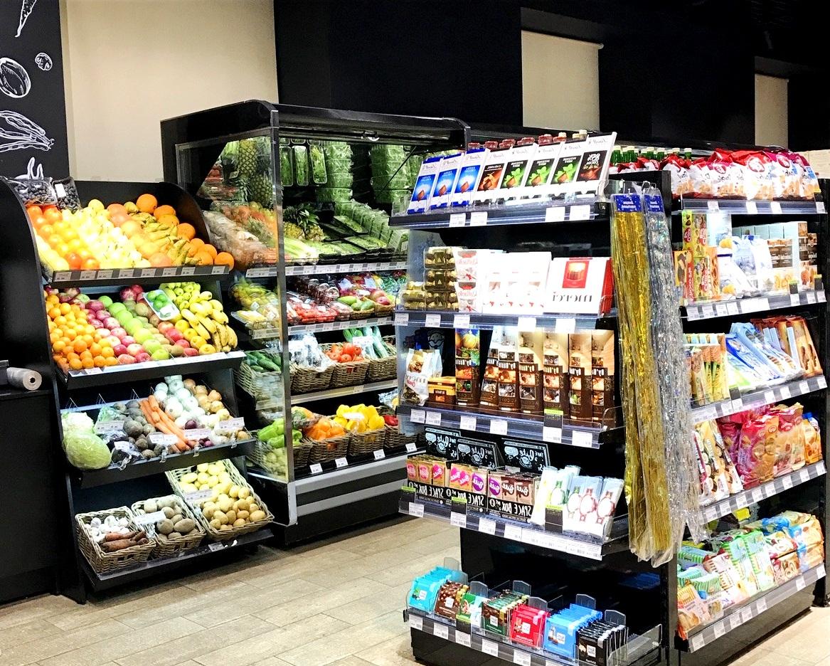 Супермаркет с кофейней, Ленинский проспект, 140 м2