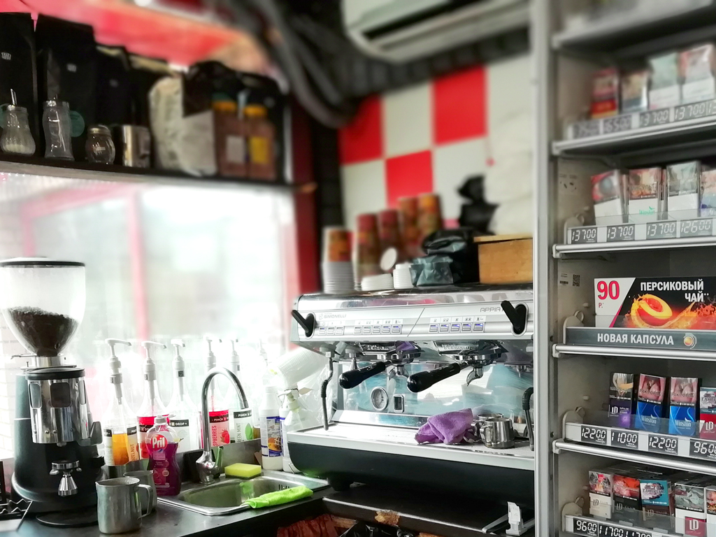 Табак и кофе прямо у метро. Прибыль 350 000 рублей