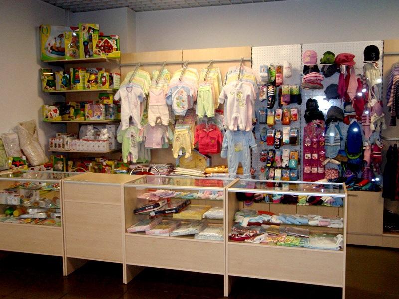Магазин детской одежды в ТРЦ