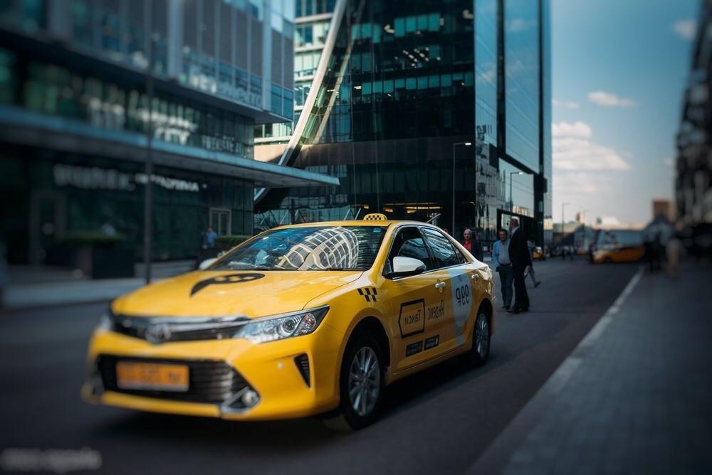 Автопарк Яндекс-такси