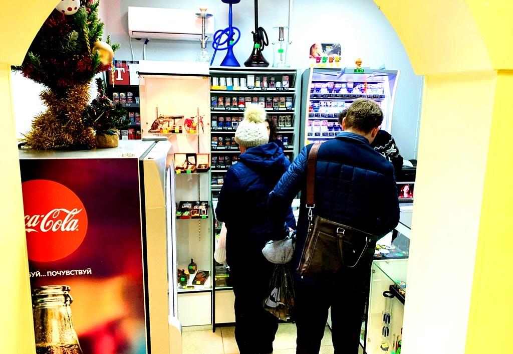 Табачный магазин у метро. Прибыль 120.000 рублей