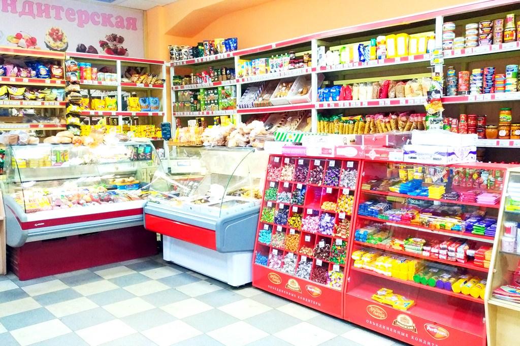 Продуктовый магазин – оборот 2.000.000 руб/мес