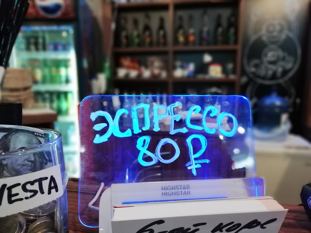 Успешная кофейня в торговом центре