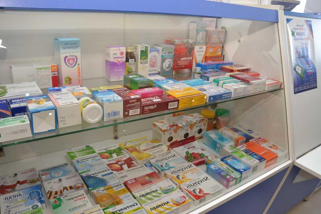 Аптека в новом районе