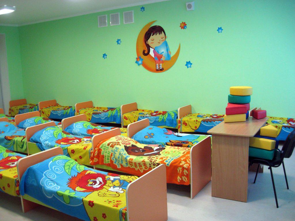 Современный сад для малышей