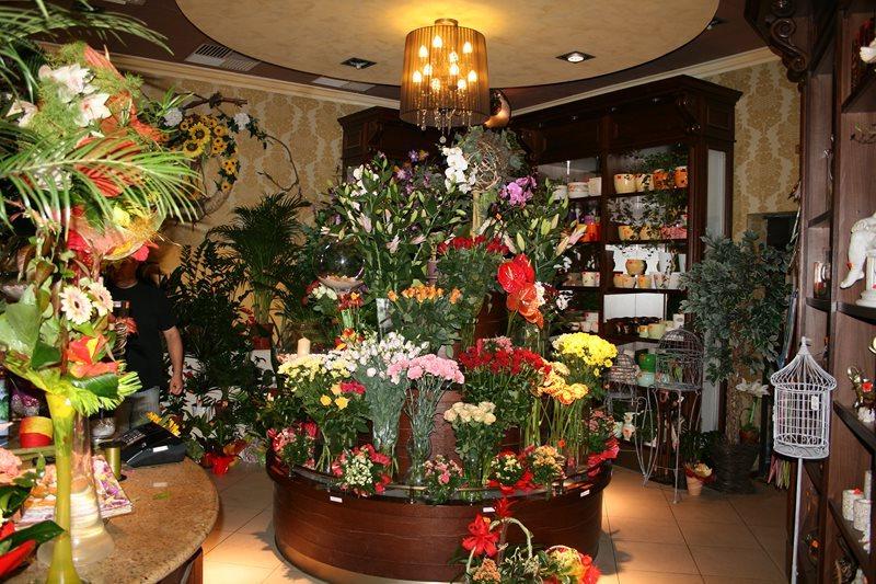 Стильный магазин цветов